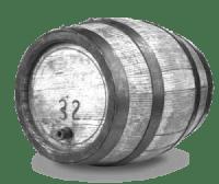 Antica botte per il vino
